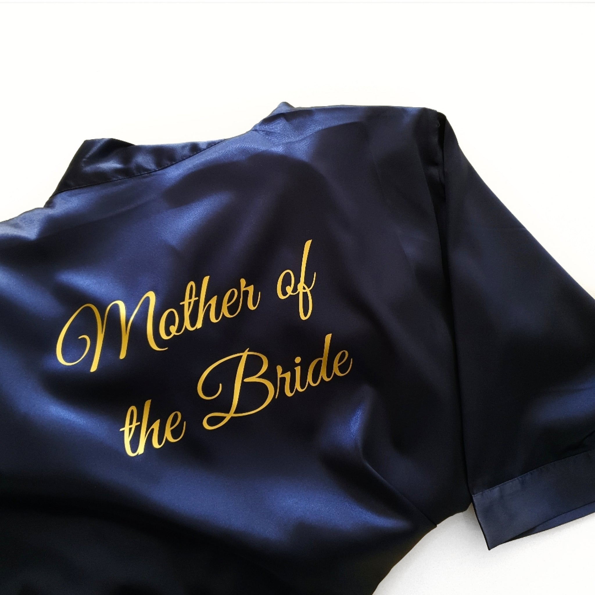 Bridal 'Mother of the Bride' Satin Robe.