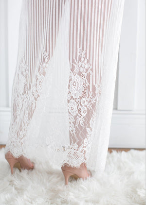 Hope Collection- full length lace robe