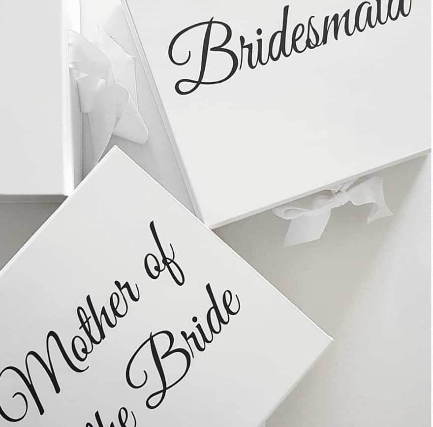Bridal Party Hamper Boxes