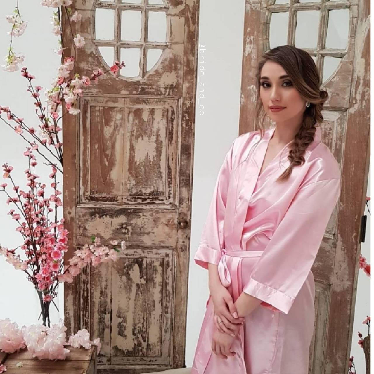 Bridal 'Maid of Honour' Satin Robe