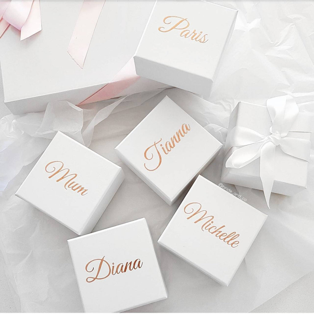Mini Personalised Gift Box 9.3x9.3x5.5cm