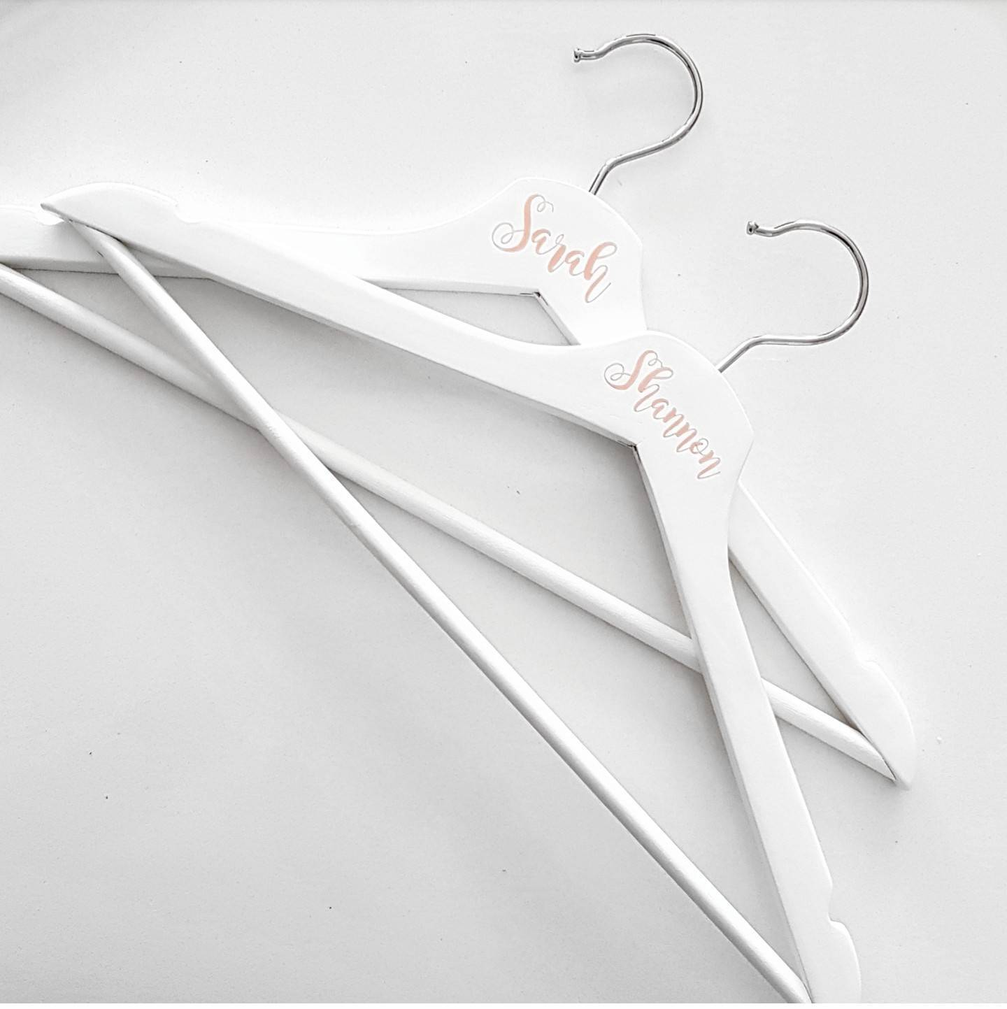 White Wooden Hanger