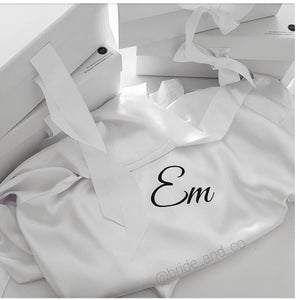Personalised 'Name' Satin Robe