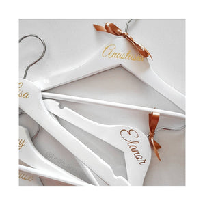 Kids White Wooden Hanger