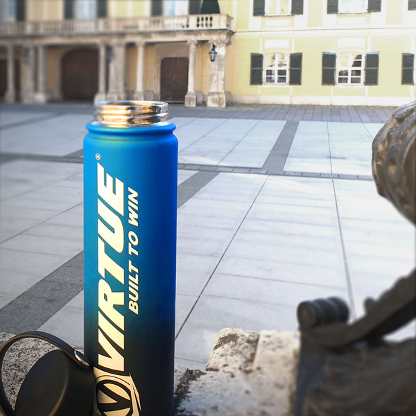 zzz - Virtue Stainless Steel 24Hr Cool Water Bottle - Lime