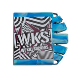Bunkerkings - Knuckle Butt Tank Cover - WKS Shred - Cyan