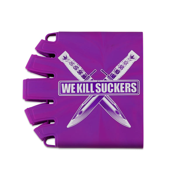 Bunkerkings - Knuckle Butt Tank Cover - WKS Knife - Purple