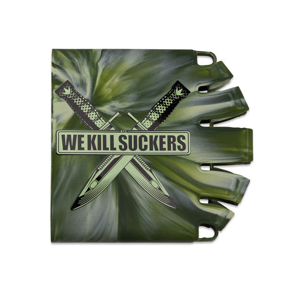 Bunkerkings - Knuckle Butt Tank Cover - WKS Knife - Camo