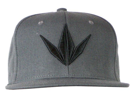 Bunkerkings Snapback Cap - Crown / Grey