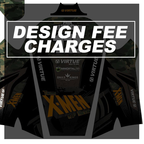 Custom Jersey Design Charge