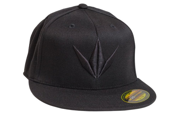 Bunkerkings Fitted Flex Crown Cap - Black
