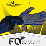 Bunkerkings Fly Paintball Gloves - Royal Blue