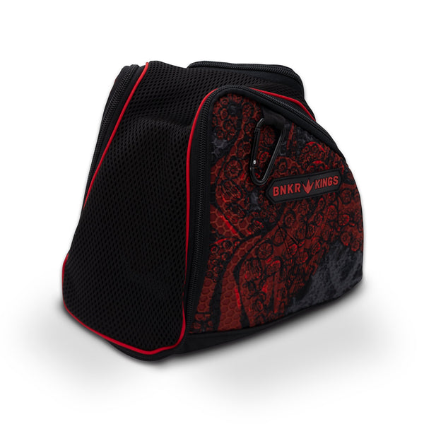 Bunkerkings Supreme Goggle Bag - Red Tentacles