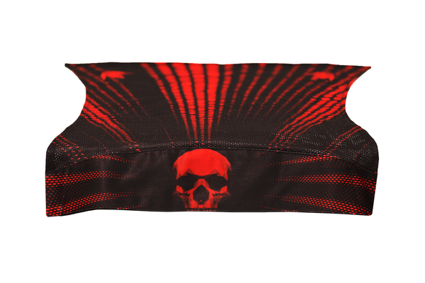 zzz - Bunkerkings Royal Wrap - Kings Skull Red