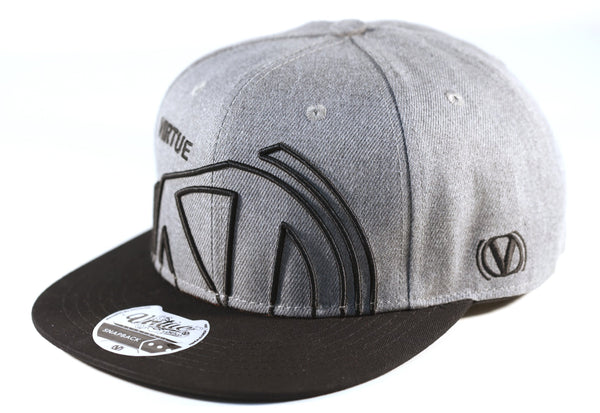 Virtue Snapback Hat - Grey - Zoom50x
