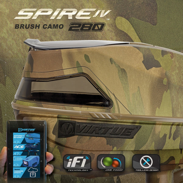 Pre-Order - Virtue Spire IV Loader - Reality Brush Camo 280