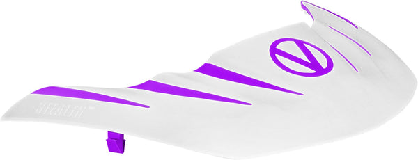 Virtue VIO Stealth Visor - Purple/White