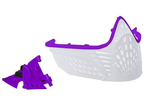 VIO Extend Facemask - Purple/White