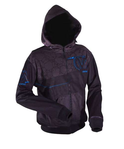 zzz - Virtue Performance Full Zip Hoodie - Distortion - 2XL