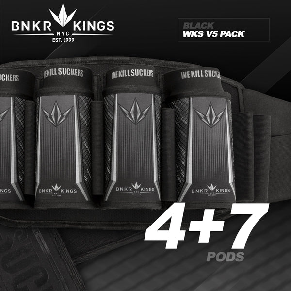 Bunkerkings Strapless Pack V5 - WKS 4+7 - Black