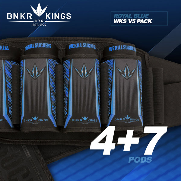 zzz - Bunkerkings Strapless Pack V5 - WKS 4+7 - Royal Blue