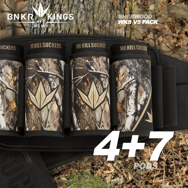 Bunkerkings Strapless Pack V5 - WKS 4+7 - Sherwood Camo
