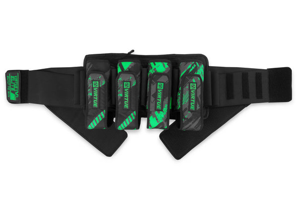 Virtue Elite Harness 4+7 - Graphic Lime