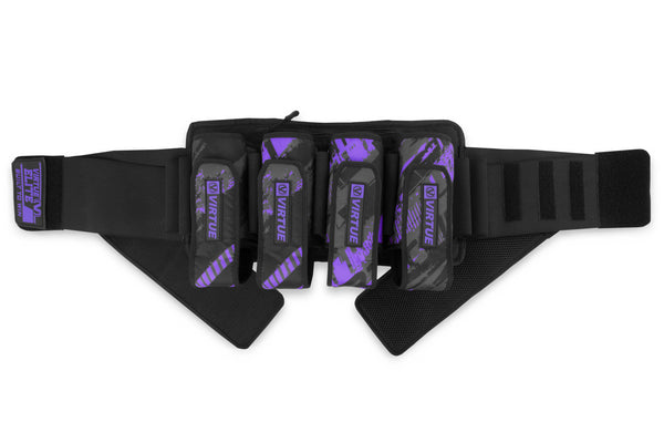 Virtue Elite Harness 4+7 - Graphic Purple