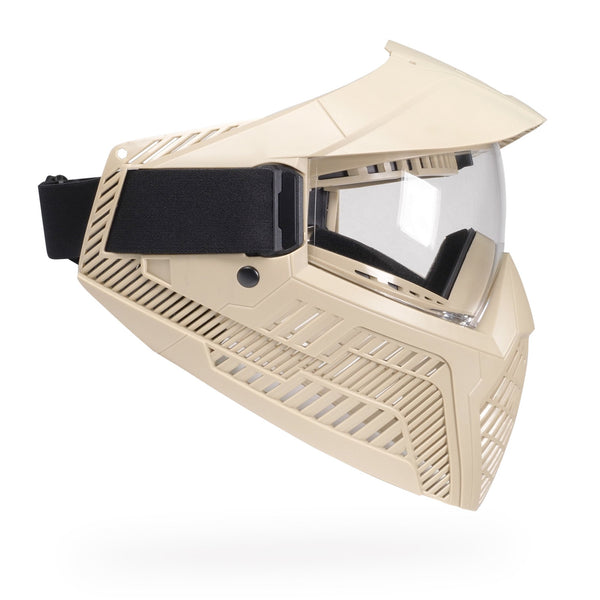 Base Single Anti-Fog Field Paintball Goggle - FDE