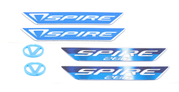 Spire Logo Pack (200/260 badges & V-logos)