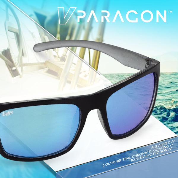 Virtue v.Paragon Sunglasses - Polished Ice Black