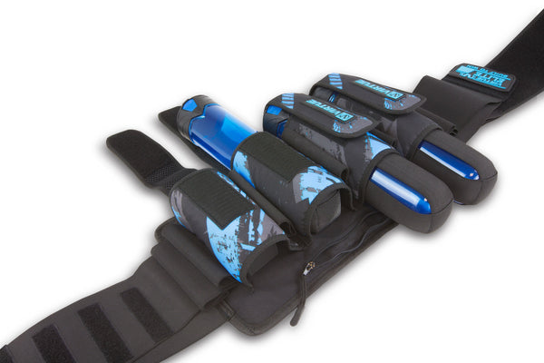 Virtue Elite Harness 4+7 - Graphic Cyan