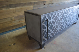 ASTRAL INDUSTRIAL STEEL CREDENZA- shipping included in price
