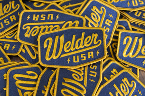 WELDER PATCHES