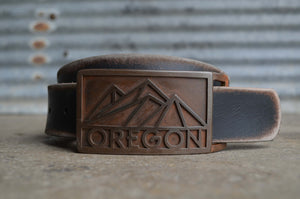 OREGON Mountain Belt Buckle