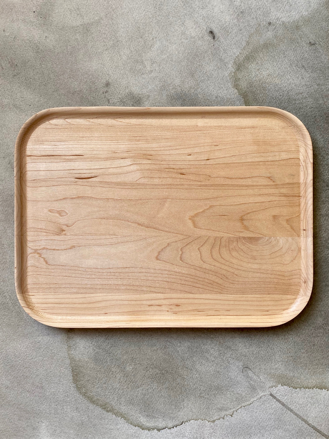 "Merci ""La Nouvelle Table"" Maple Tray"
