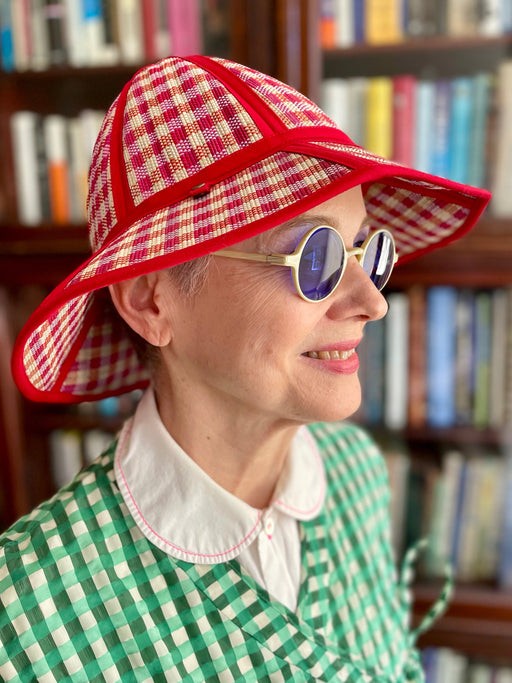 Carolyn Roberts Pucci Purse - Blue and Yellow