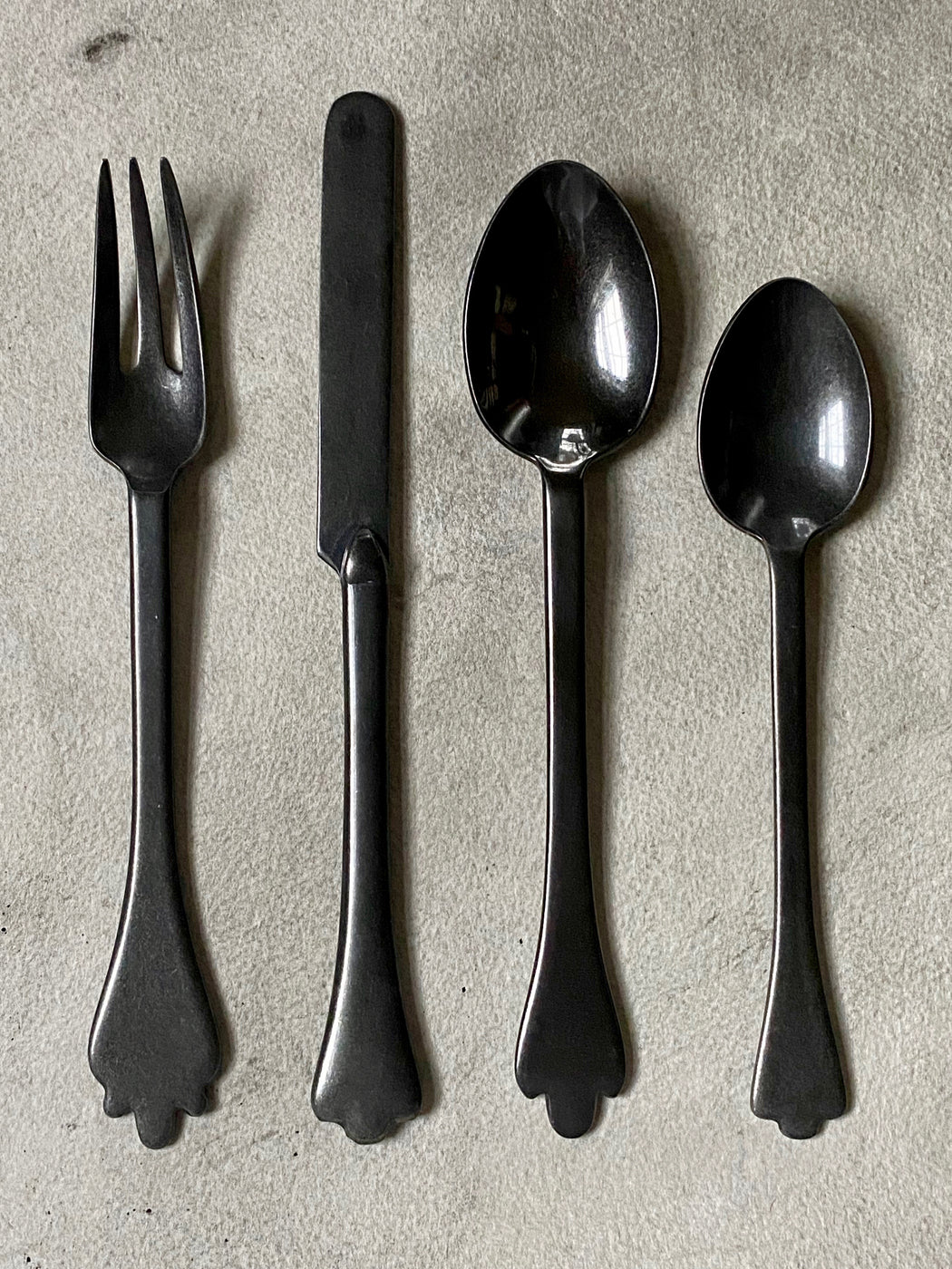 "Merci ""Mix"" Flatware - Anthracite"