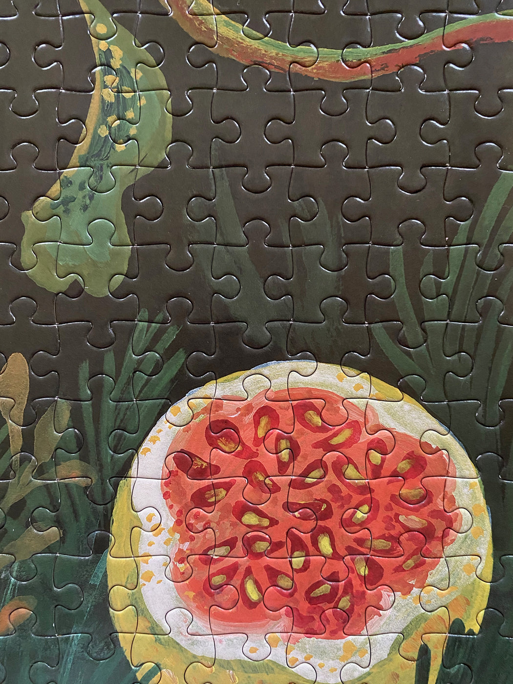 "Nathalie Lete ""In the Dark Garden"" Jigsaw Puzzle"
