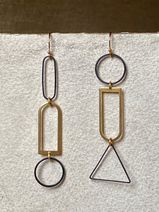 "Melissa Jenkins ""Shapes"" Earrings"