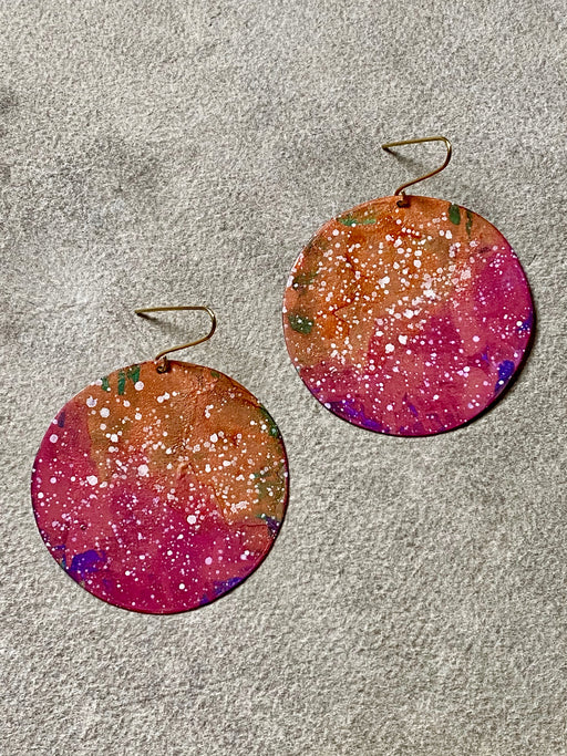 "Sibilia ""Perfect Circle"" Earrings - Superbloom"