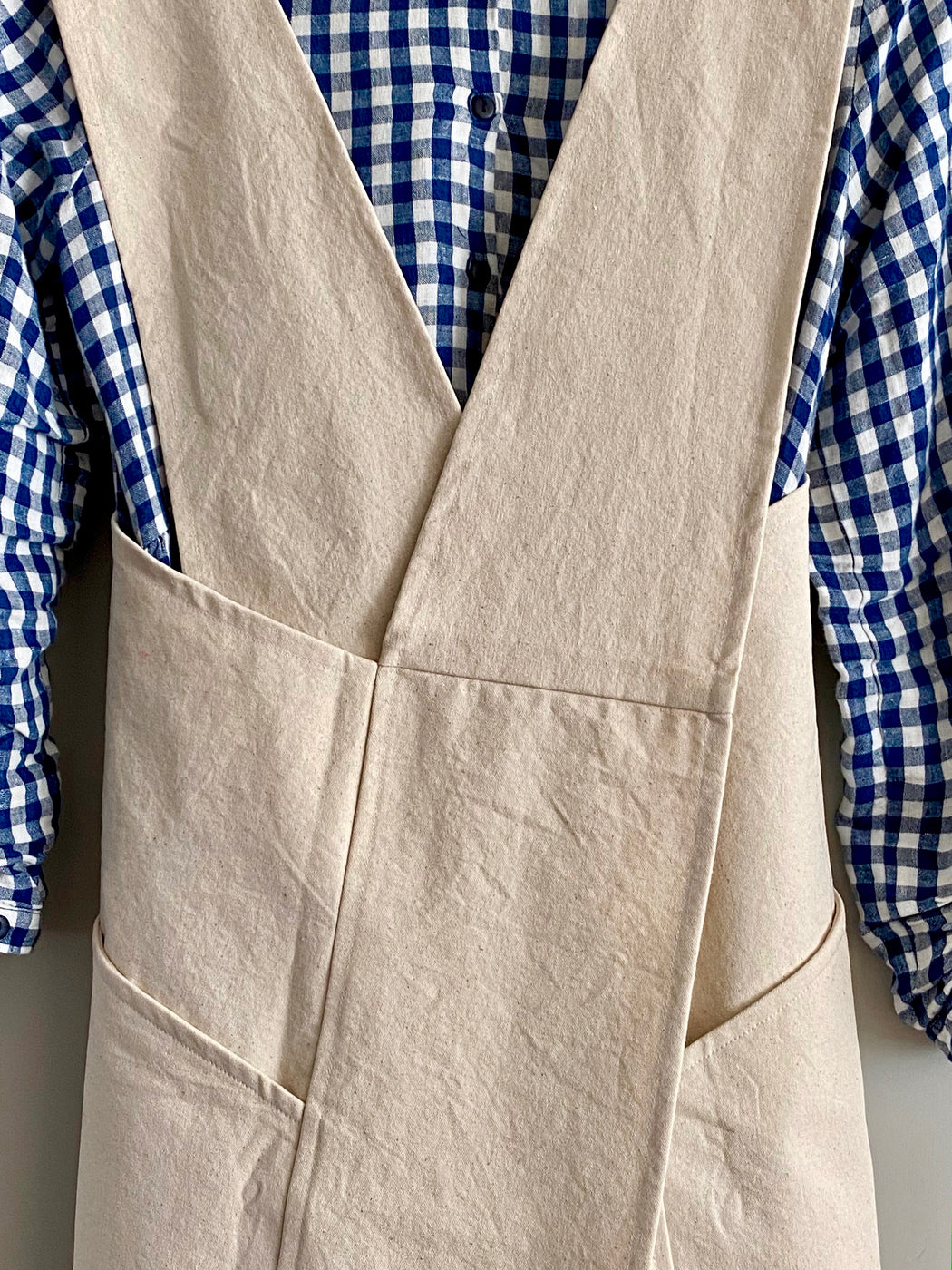 Natural Canvas Gardening Apron