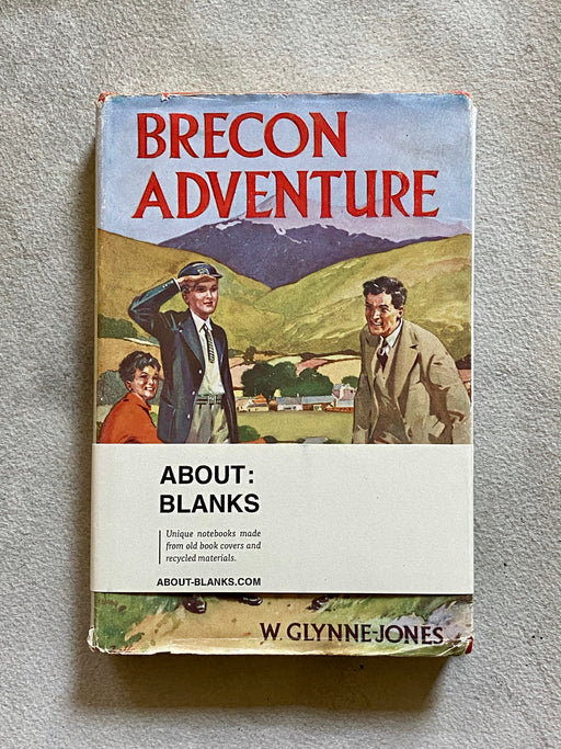 """Brecon Adventure"" Vintage Blank Book"