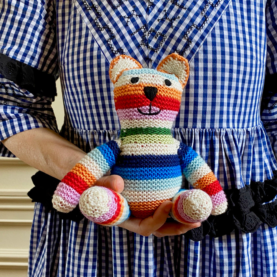 Cashmere Hand-knit Teddy