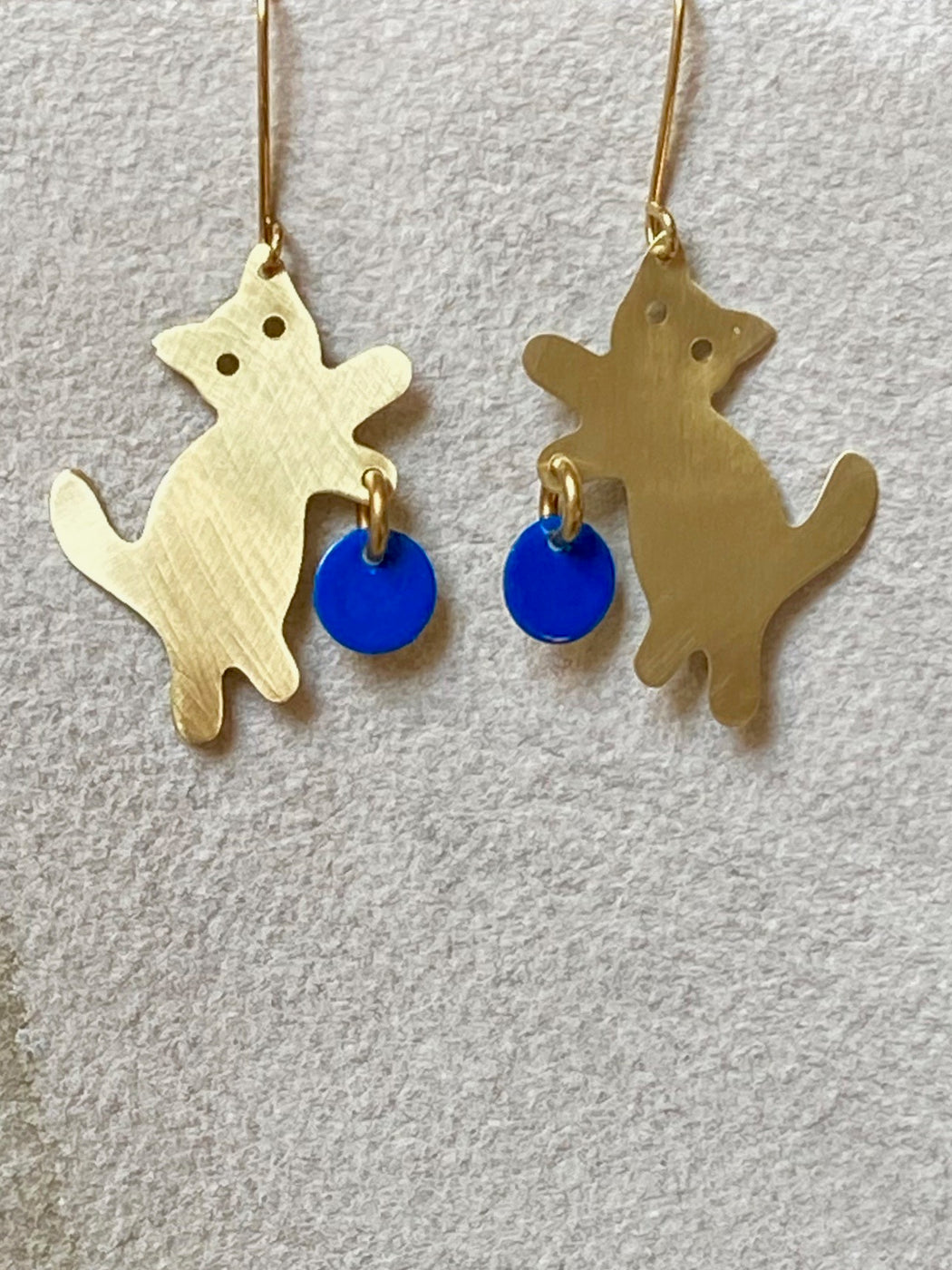 "Sibilia ""Wool and the Cat"" Earrings"