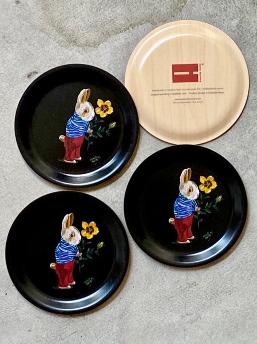 "Nathalie Lete ""Bunny"" Mini Birchwood Tray"