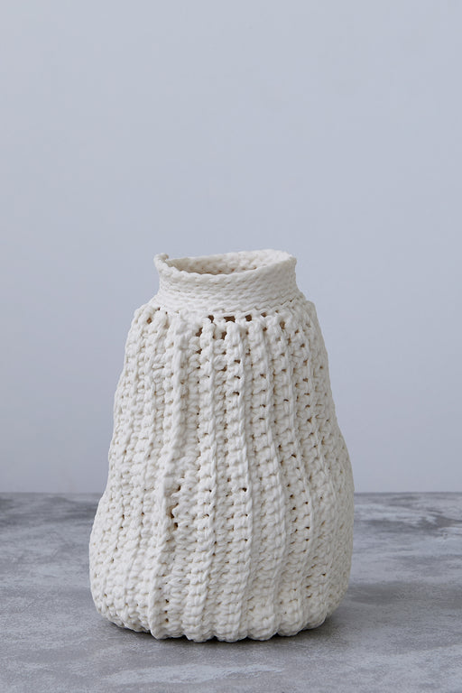 Lisa Belsky Ceramic Knit Bottle