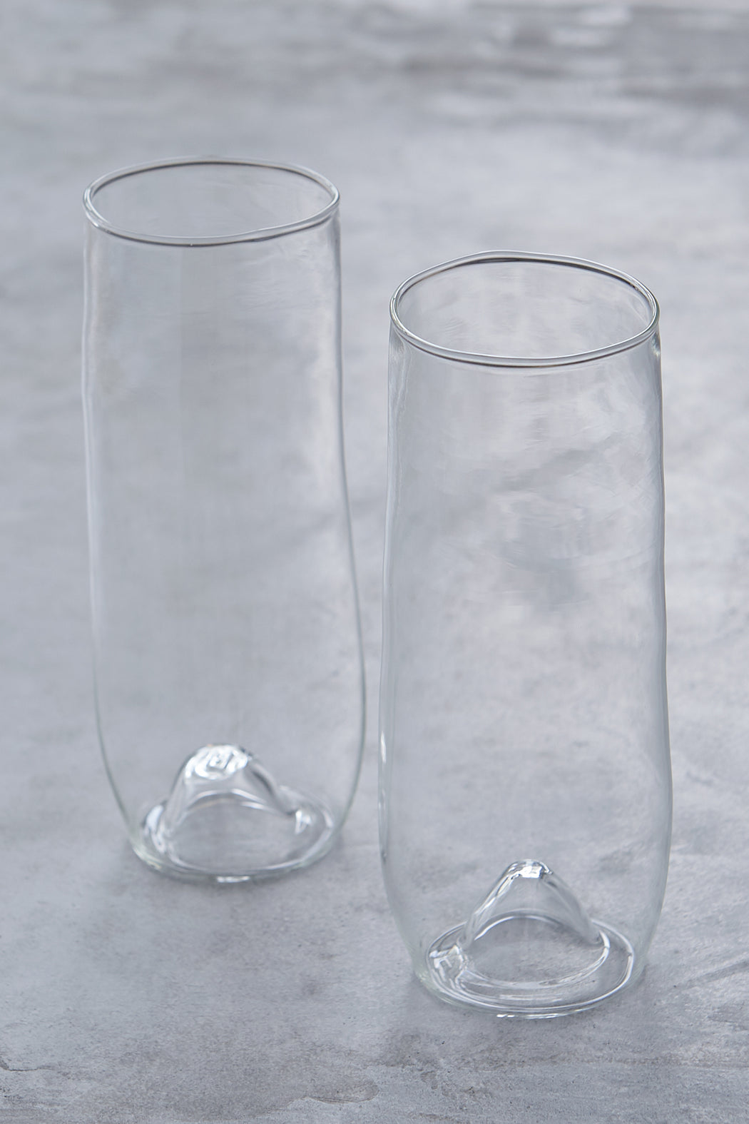 Malfatti Glassware Hand-Blown Prosecco Glasses