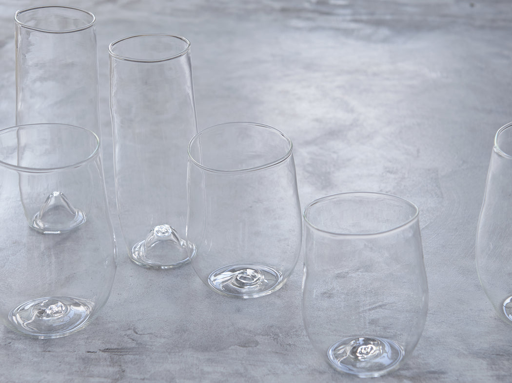 Malfatti Hand-Blown Prosecco Glasses - Pair
