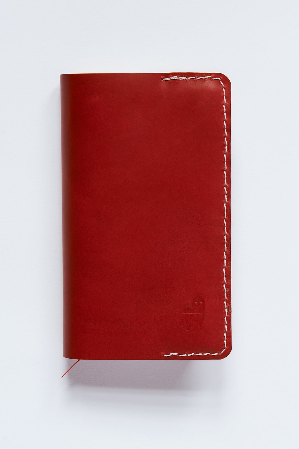 PM Leather Five-Year Journal - Red